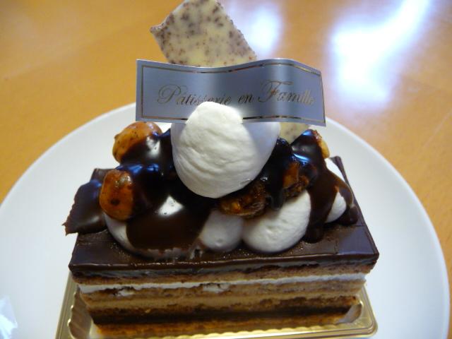 アンファミーユのケーキ