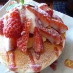 富山市カフェ・フェローでパンケーキ!男は入り辛いが美味しいです!