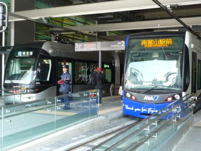 新JR富山駅の外観