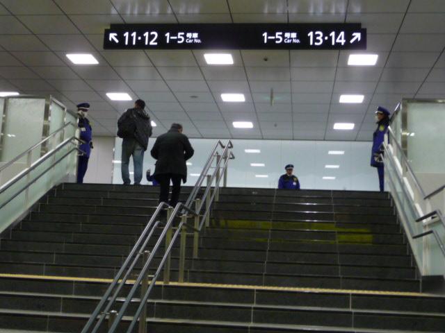 北陸新幹線富山駅