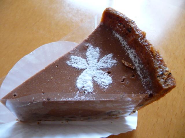 ラムレーズンとチョコレートのチーズケーキ
