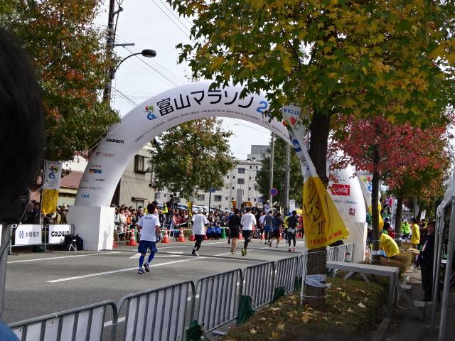 富山マラソン2015!