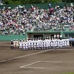 高校野球 富山県大会2016 準々決勝 富山商VS高岡商!富商のブラバン凄すぎる!
