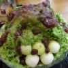 高岡 町屋Cafe Asianのカキ氷!大きさも美味しさもびっくりしたぞ!