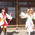 あみたん娘を見てきたぞ!道の駅 万葉の里高岡10周年記念祭!