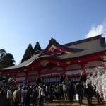 富山 初詣レポート!日枝神社と護国神社はどちらが混んでいる?