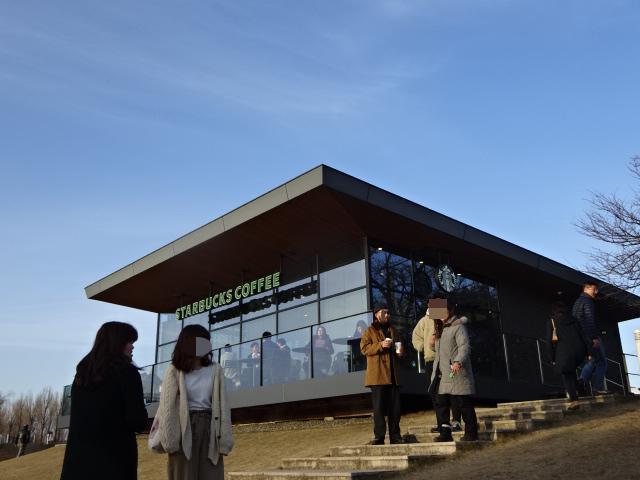 スターバックス環水公園