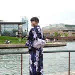 MANOちゃん 浴衣姿が素敵! 環水公園夏祭り2017!