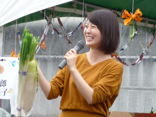 青島莉子アナ