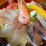 魚の駅生地 できたて館で海鮮丼食べてきた!カニ汁無かった!