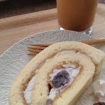 富山県射水市 番屋カフェ 小豆ロールがふわふわなめらかで美味すぎた!