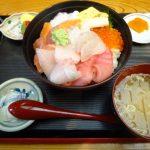 射水市 ファミリー食堂 おさかなやさんの海鮮丼が最高!お腹いっぱいになった!