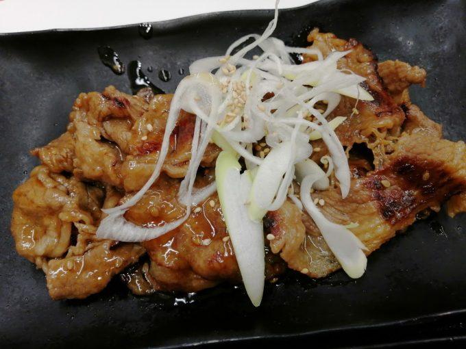 牛皿 牛カルビ W定食