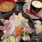 氷見回転寿司 粋鮨 富山店 ランチは土曜日もあるよ!氷見地魚三種丼食べてきた!