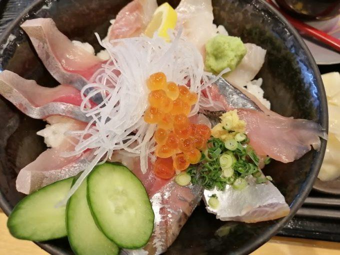 氷見地魚三種丼