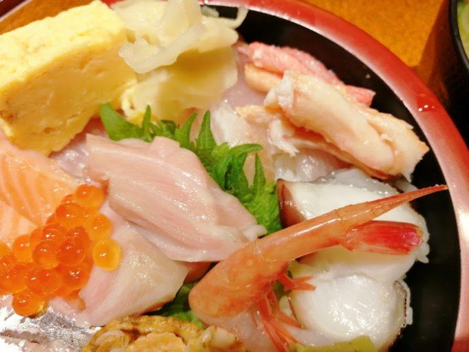歩寿司分家多聞 海鮮丼ランチ