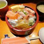 射水市 歩寿司分家多聞の海鮮丼セット!アナゴの柔らかさとタレに驚いた!