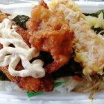 ほっともっとののり弁当に単品惣菜の「から揚(70円)」と「タルタルソース(20円)」を追加してみた!