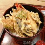 城端 割烹 かねしま天丼と手作り豆腐が美味い!次回は鰻を食べたいな!