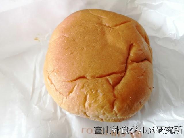 ロッテリアのハンバーガー