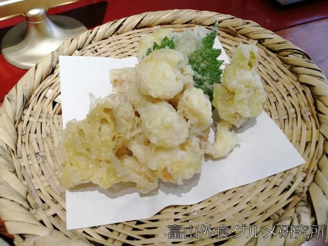 黄金タモギ茸の天ぷら