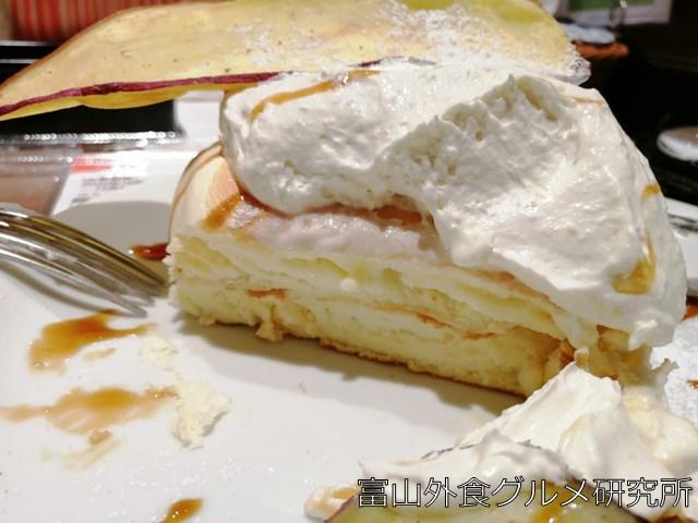 さつま芋クリームリコッタパンケーキ