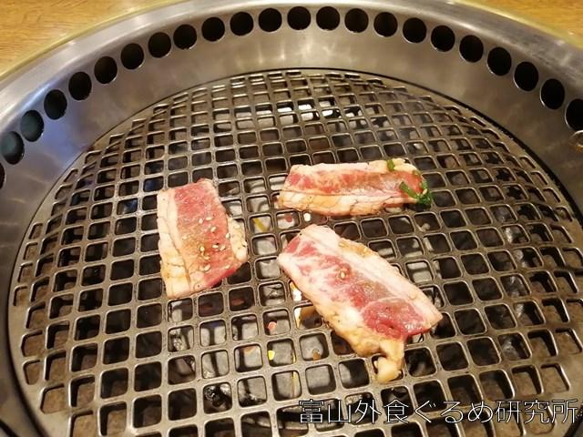 焼肉バーンズ ジャンボカルビ焼肉ランチ