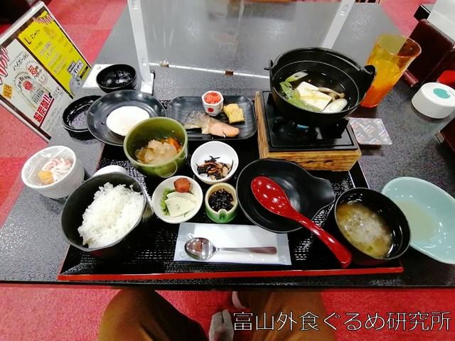 金沢 ゆめのゆ 朝食