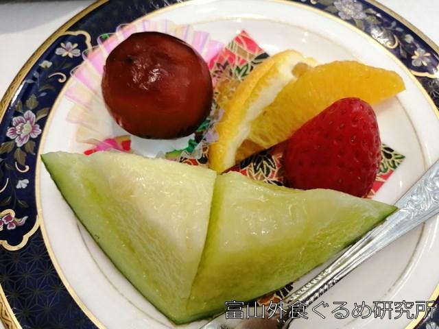 立山国際ホテル 食事