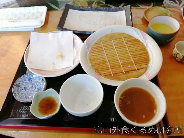 十割蕎麦,香乃庵,出し巻き卵,富山