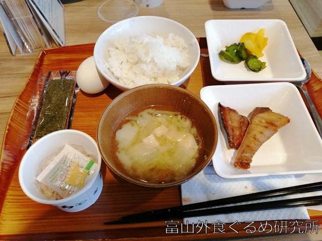 スーパーホテル富山射水 朝食