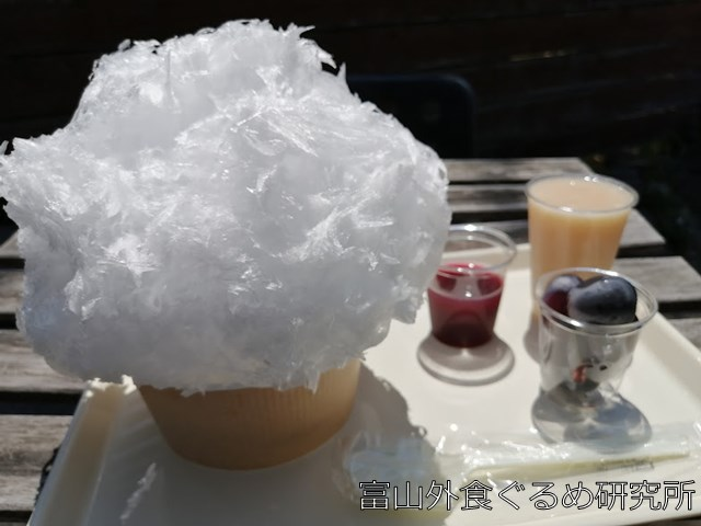 富山市 ハナ かき氷 メニュー